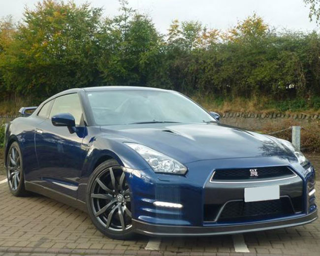 Nissan GTR in UK